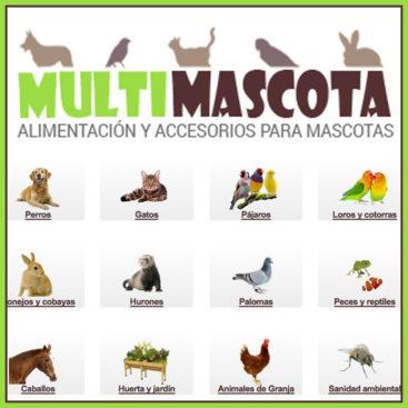 Alimentación y accesorios para mascotas - Multimascota